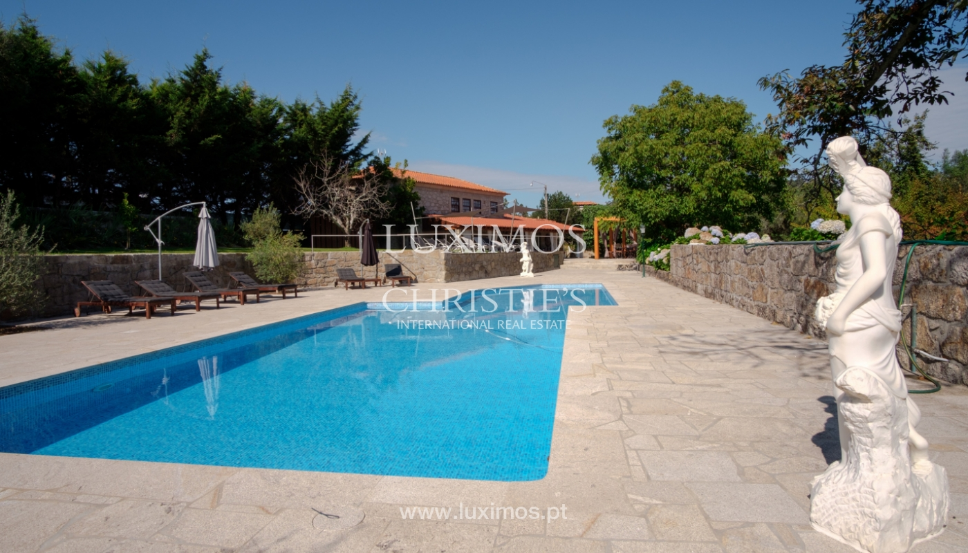 Rural Hotel w/ pool and garden, by the river, Barcelos, Portugal_119161