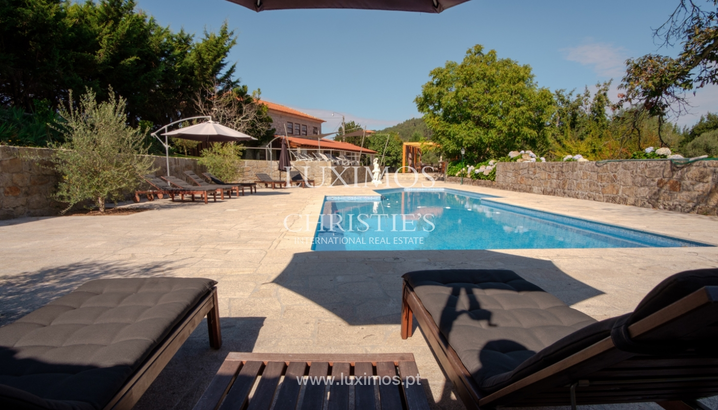 Rural Hotel w/ pool and garden, by the river, Barcelos, Portugal_119163