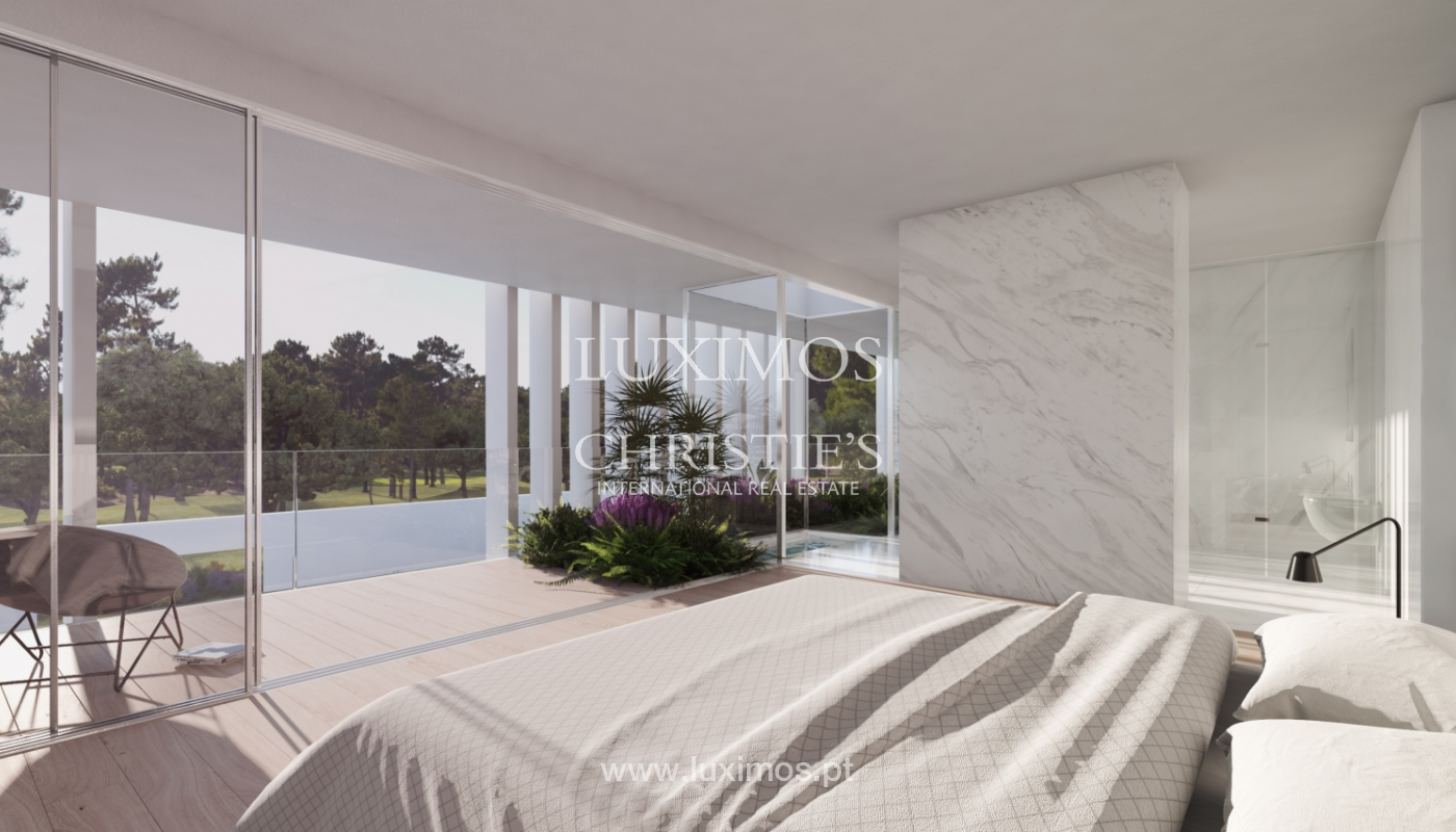 Sale of land with house project in Quinta do Lago, Algarve, Portugal_119284