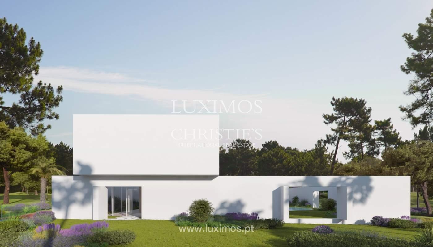 Terrain avec projet maison à vendre, Quinta do Lago, Algarve, Portugal_119288