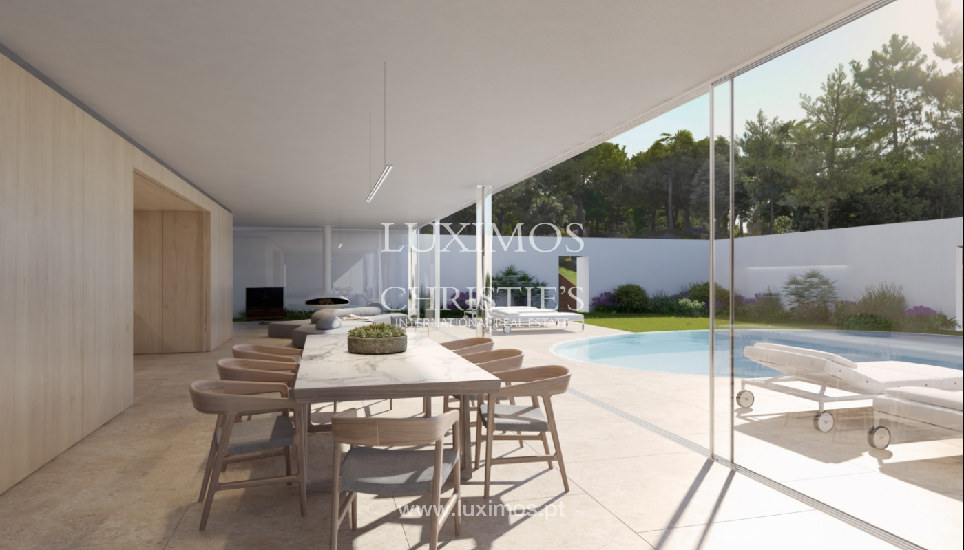 Sale of land with house project in Quinta do Lago, Algarve, Portugal_119293
