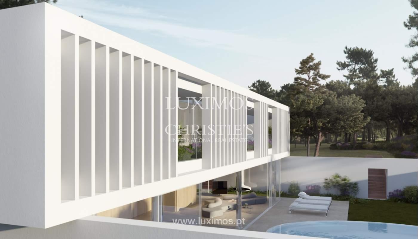 Terrain avec projet maison à vendre, Quinta do Lago, Algarve, Portugal_119294