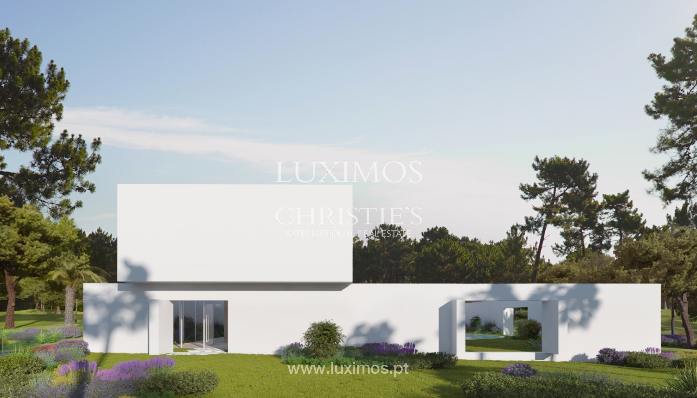 Sale of land with house project in Quinta do Lago, Algarve, Portugal_119295