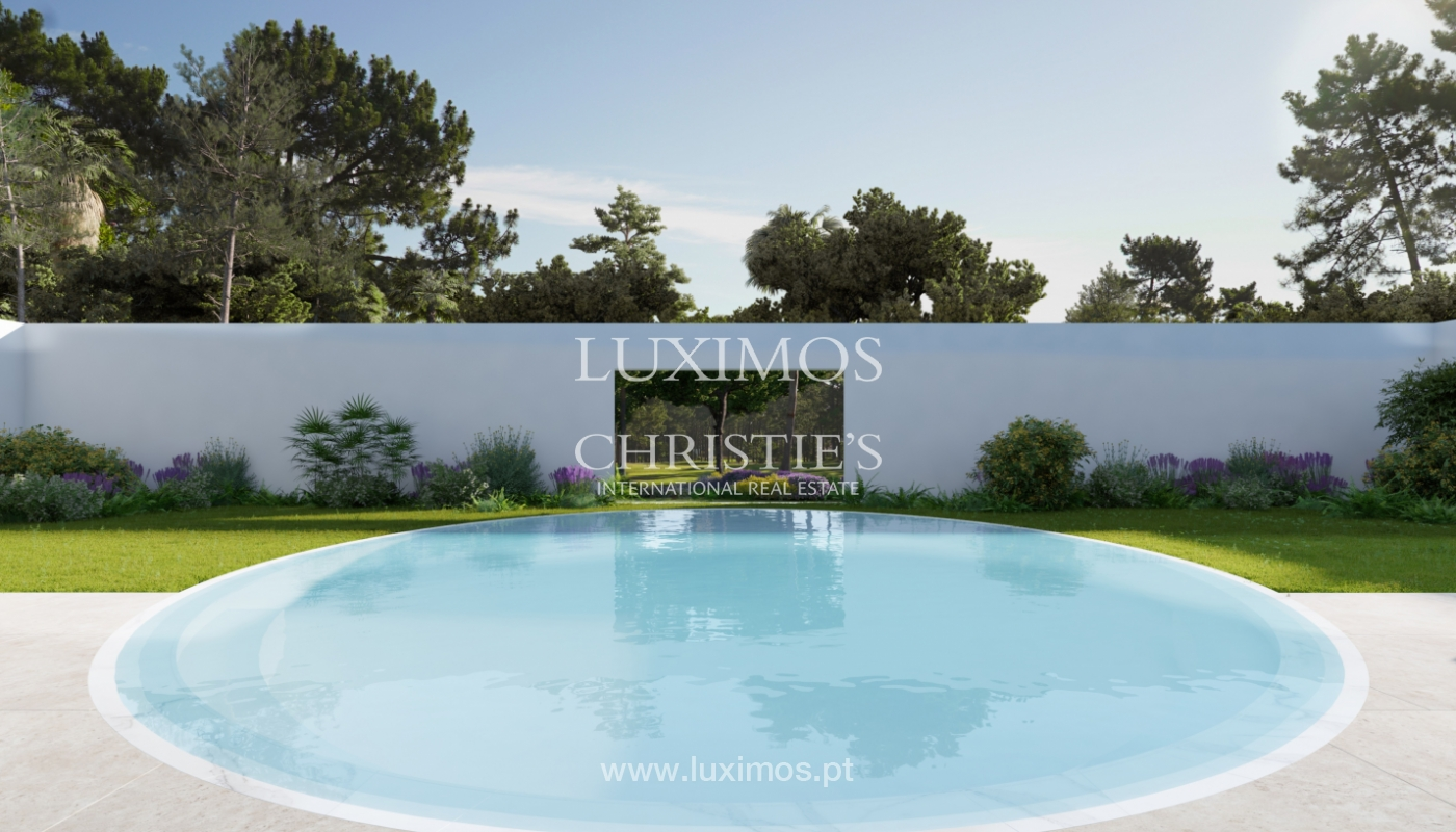 Sale of land with house project in Quinta do Lago, Algarve, Portugal_119296
