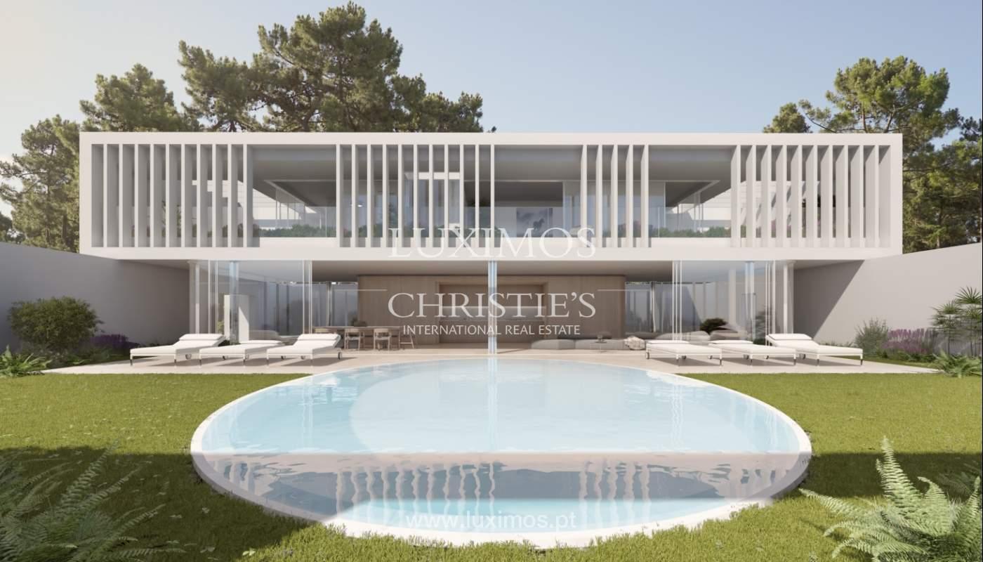 Terrain avec projet maison à vendre, Quinta do Lago, Algarve, Portugal_119297