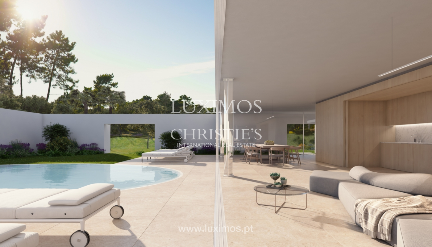 Sale of land with house project in Quinta do Lago, Algarve, Portugal_119299