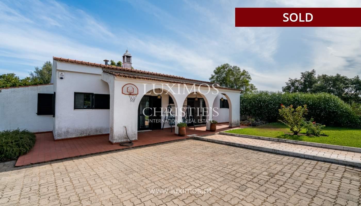 Sale of villa with pool and garden in Almancil, Algarve, Portugal_119449