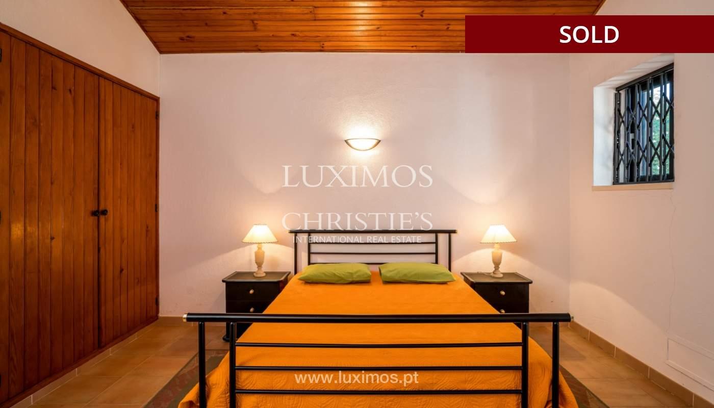 Sale of villa with pool and garden in Almancil, Algarve, Portugal_119473