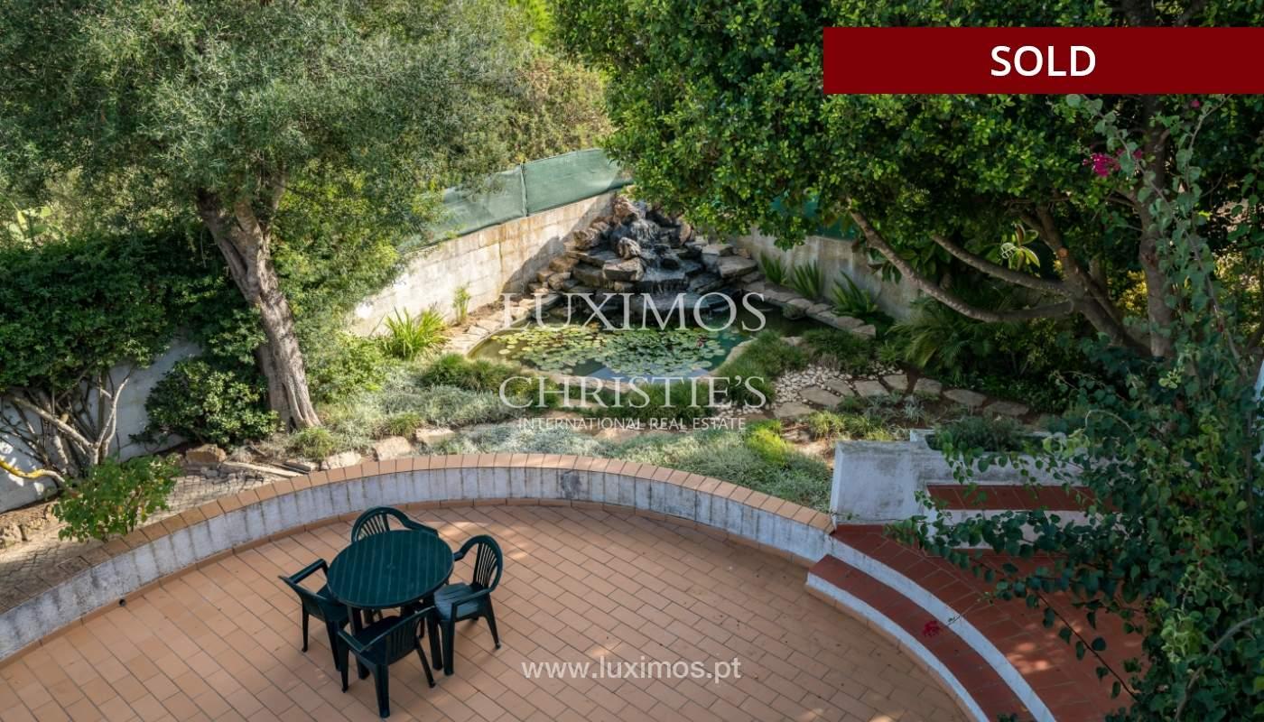 Sale of villa with pool and garden in Almancil, Algarve, Portugal_119476