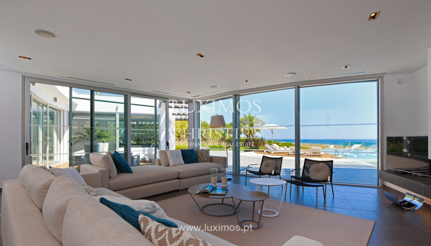 Haus zum Verkauf, Meerblick, direkter Zugang zum Strand, in Vale do Lobo, Algarve, Portugal_119539