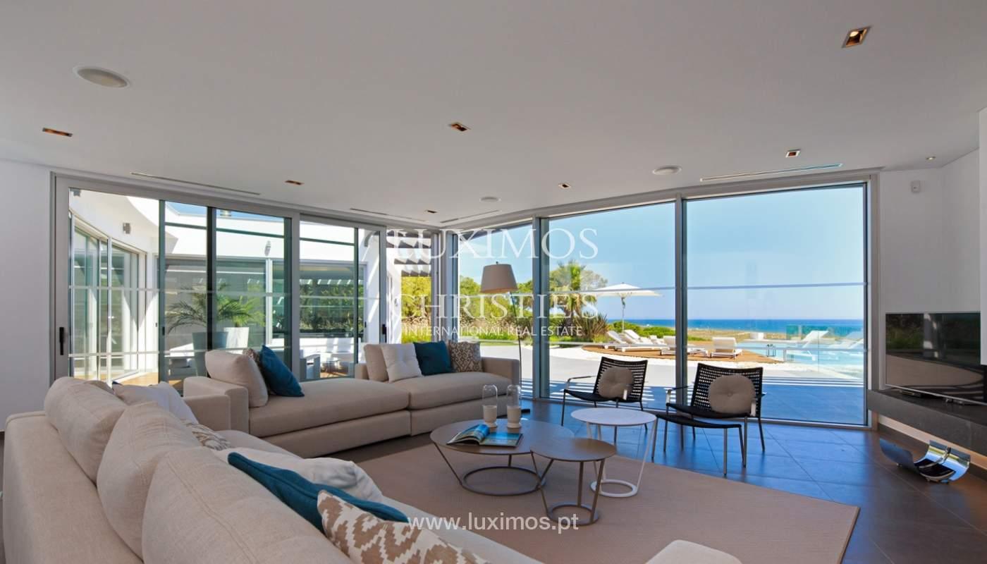 Haus zum Verkauf, Meerblick, direkter Zugang zum Strand, in Vale do Lobo, Algarve, Portugal_119549