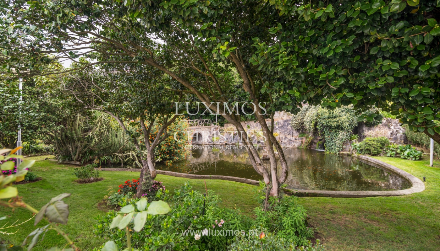 Sale of villa w/ terrace, lake and Douro River views, Porto, Portugal_119790