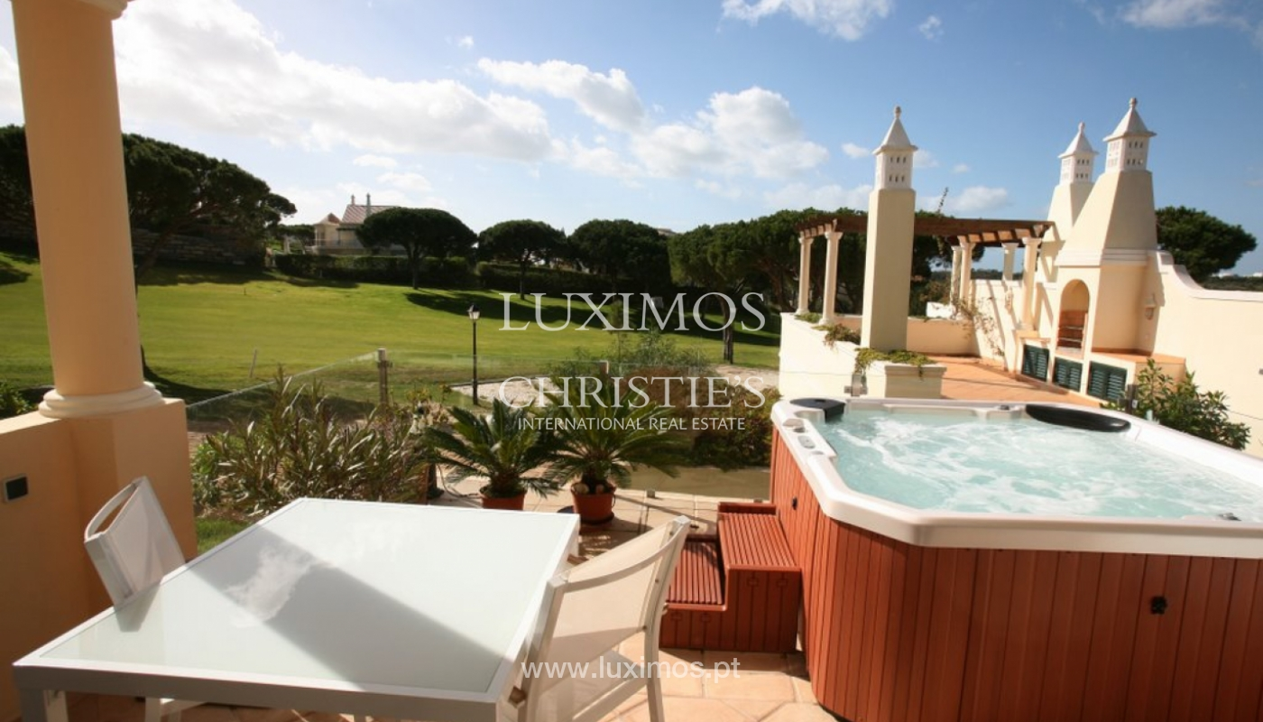 Sale of villa front golf in Vale do Lobo, Algarve, Portugal_120411