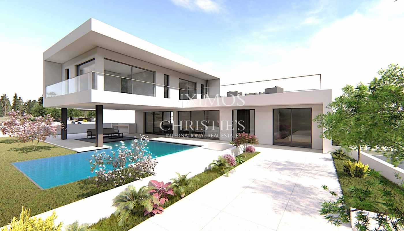 Sale of modern villa with pool in Alcantarilha, Algarve, Portugal_120621