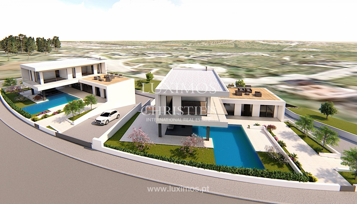 Sale of modern villa with pool in Alcantarilha, Algarve, Portugal_120624