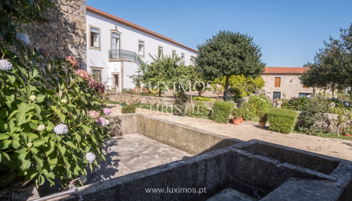 19th-century manor house in excellent condition, Vairão, Portugal_120809