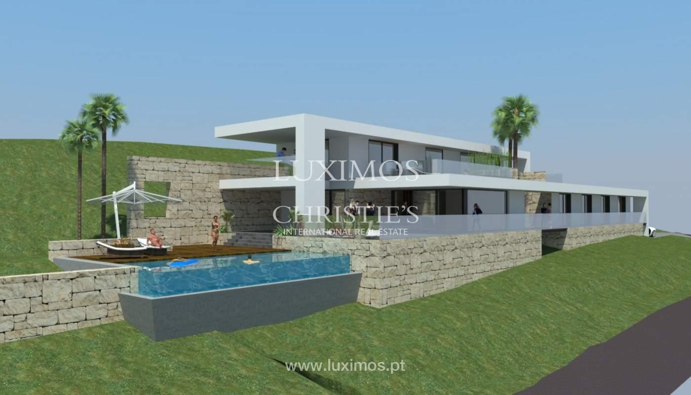 Plot area for sale to build a villa, sea view, Loulé, Algarve,Portugal_120881