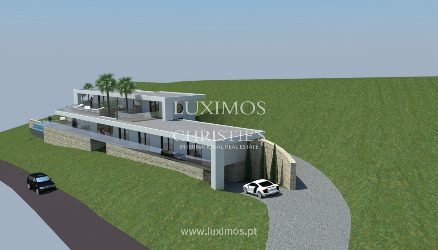 Plot area for sale to build a villa, sea view, Loulé, Algarve,Portugal_120882