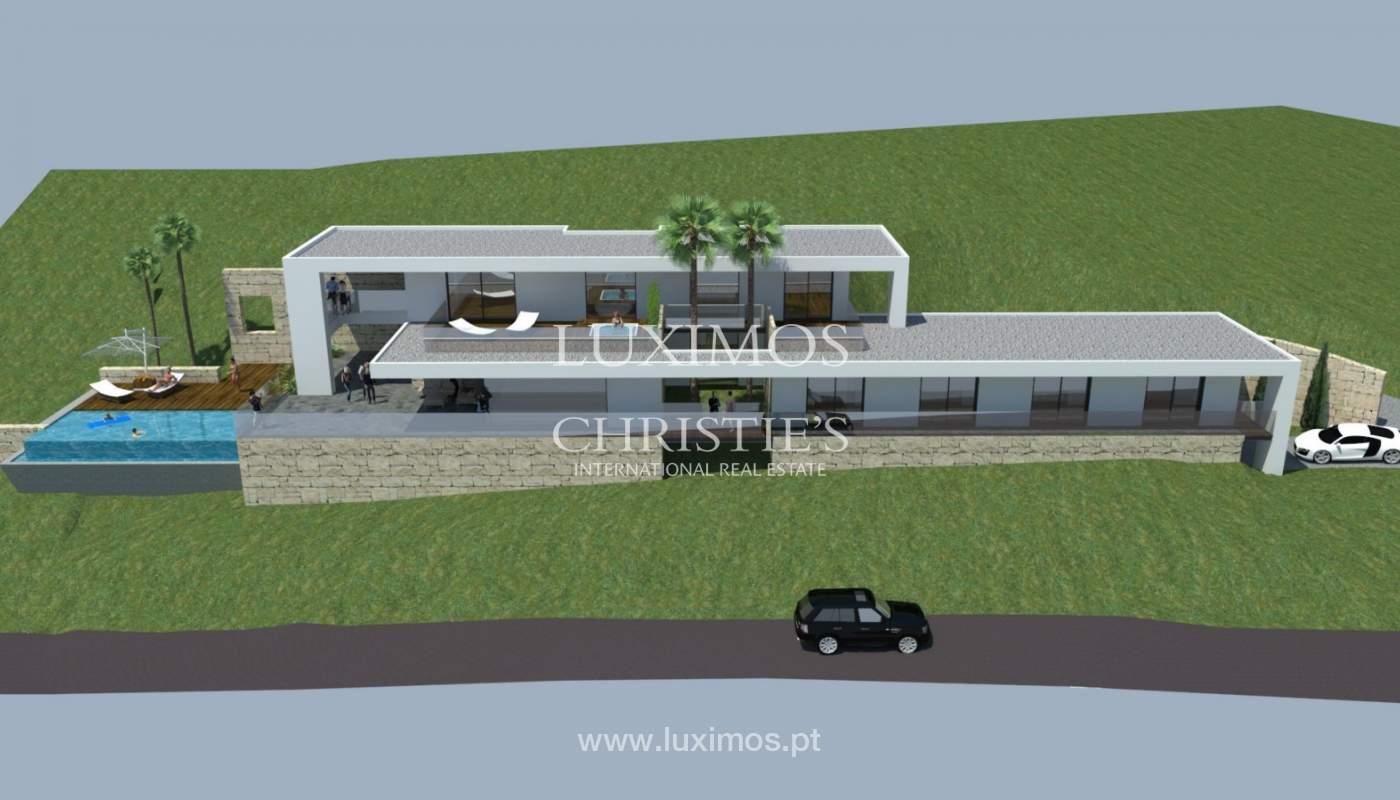 Plot area for sale to build a villa, sea view, Loulé, Algarve,Portugal_120883