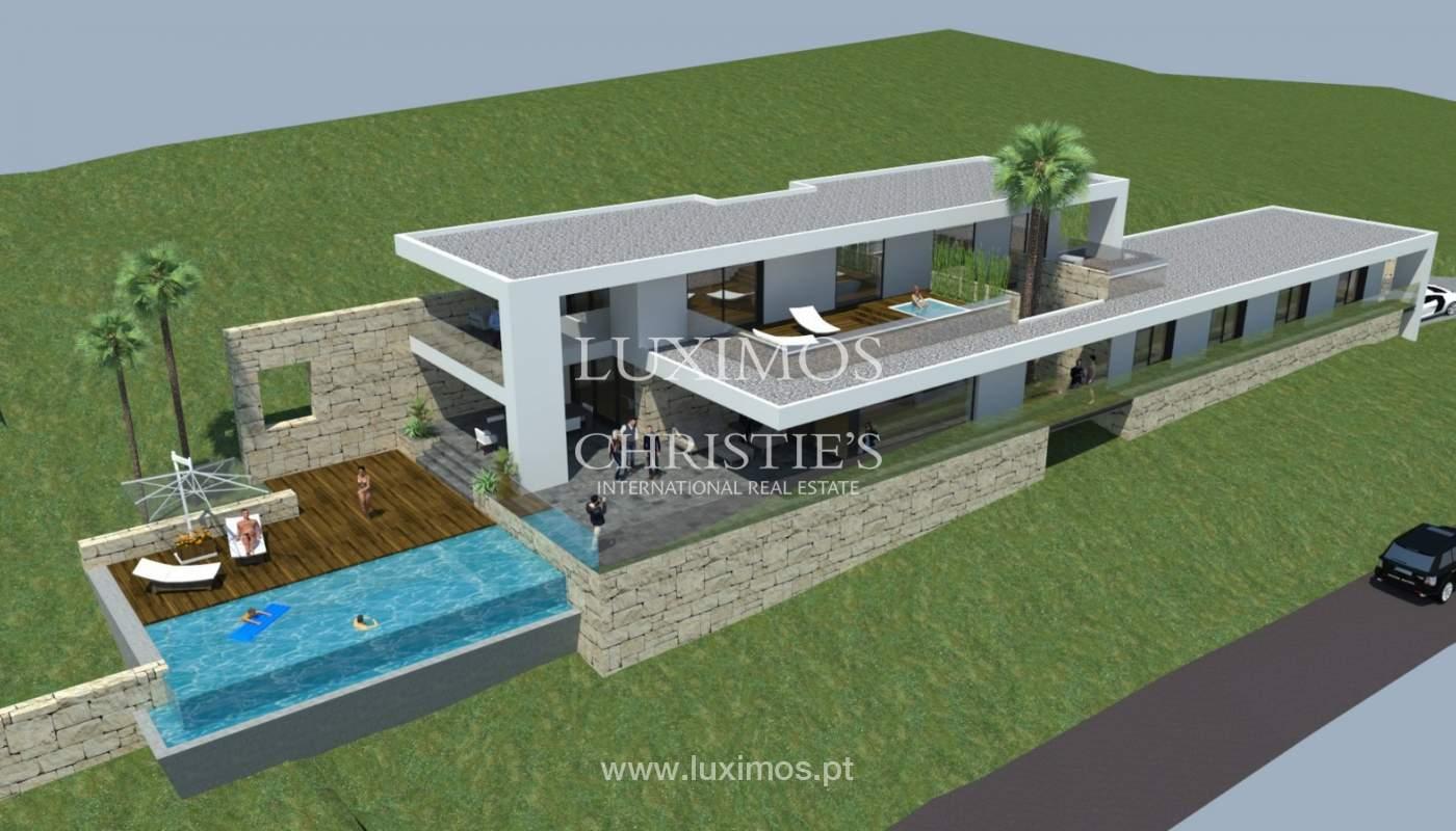 Plot area for sale to build a villa, sea view, Loulé, Algarve,Portugal_120885
