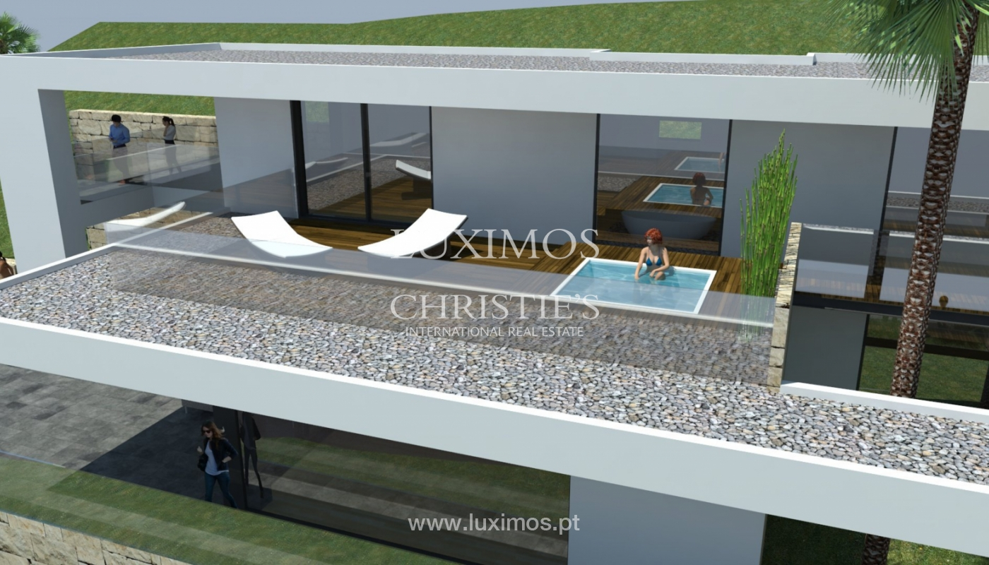 Plot area for sale to build a villa, sea view, Loulé, Algarve,Portugal_120886