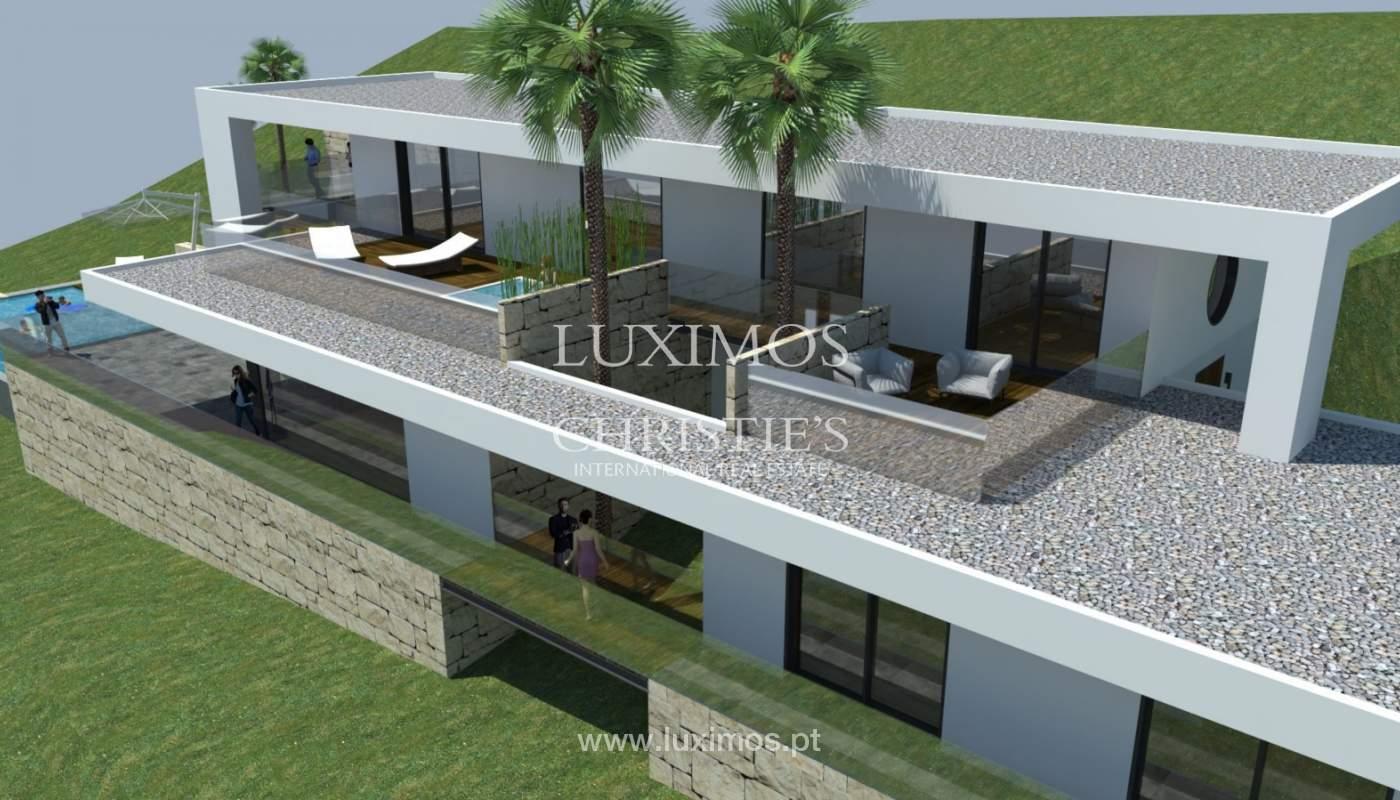 Plot area for sale to build a villa, sea view, Loulé, Algarve,Portugal_120887