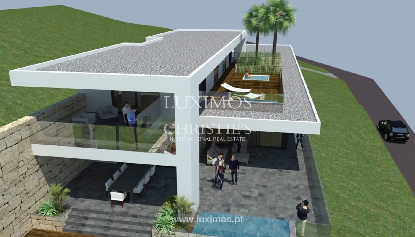 Plot area for sale to build a villa, sea view, Loulé, Algarve,Portugal_120888