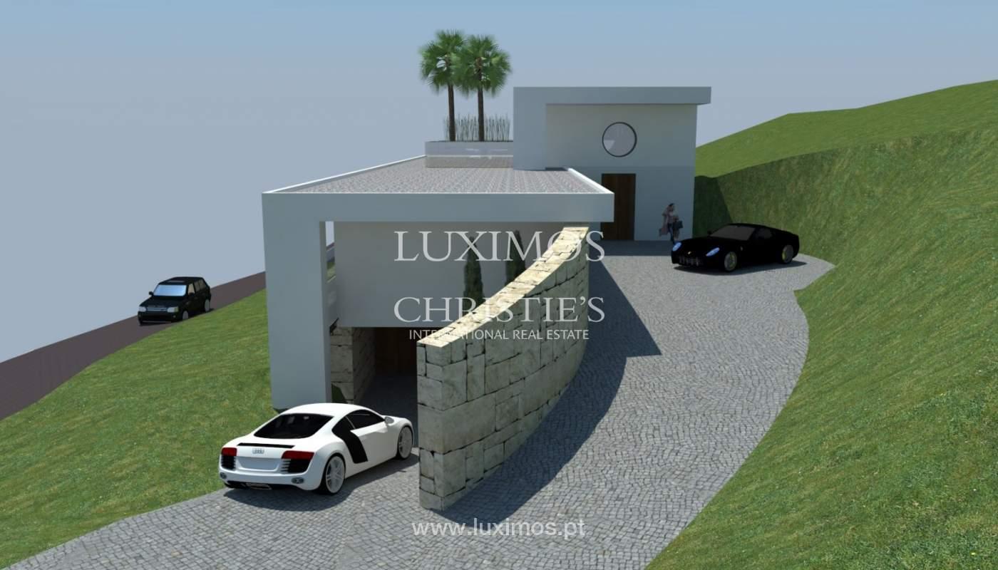 Plot area for sale to build a villa, sea view, Loulé, Algarve,Portugal_120889