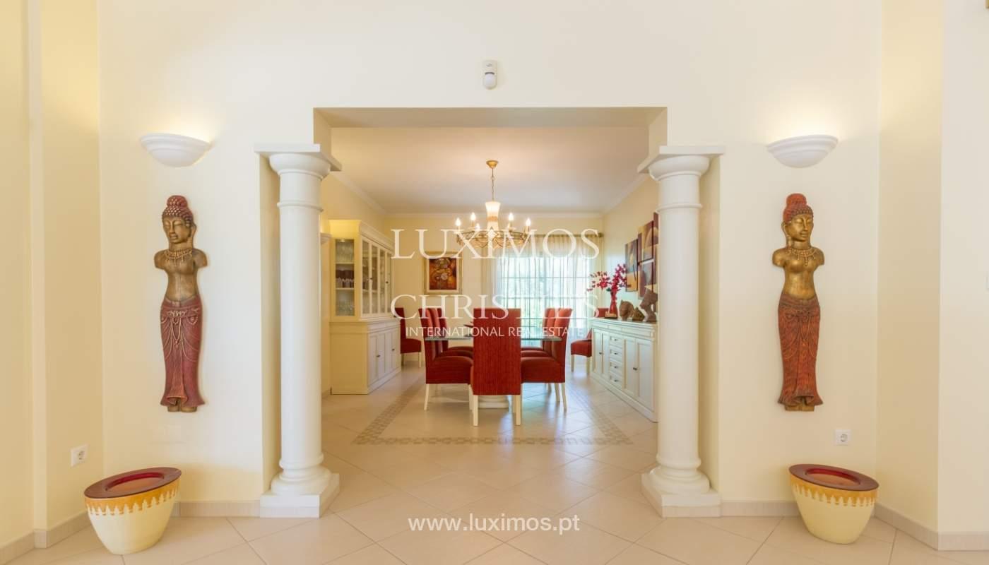 Moradia à venda, piscina e jardim, perto do golfe, Vilamoura, Algarve_121500