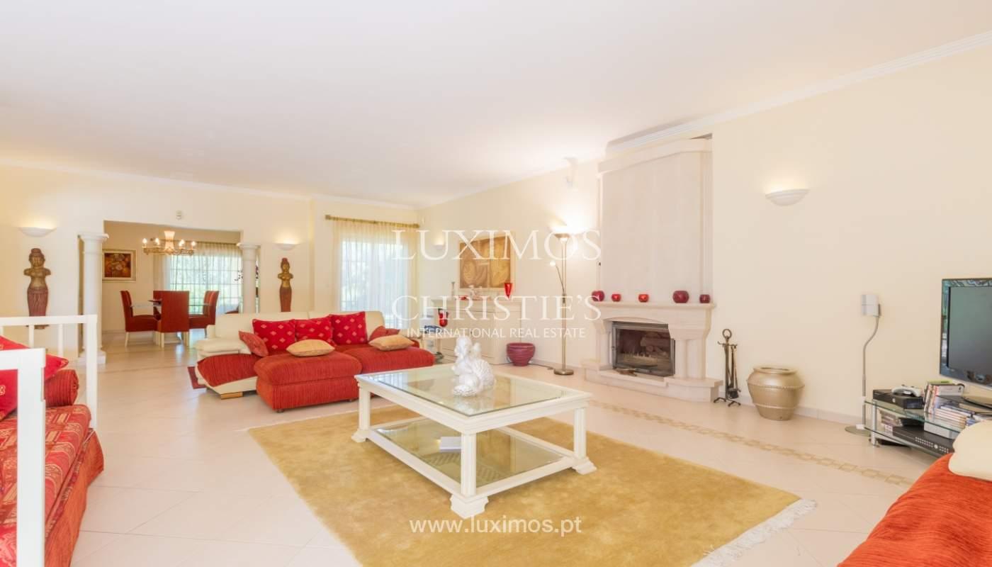 Freistehende villa zum Verkauf, pool und Garten, Nähe golf, Vilamoura, Algarve, Portugal_121503