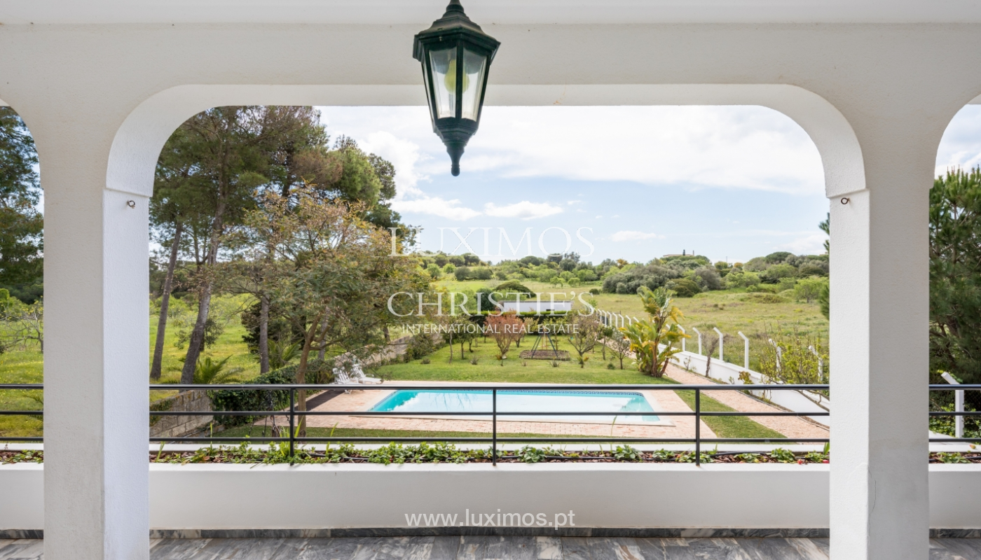 Property for sale with pool and sea view, Vau, Alvor, Algarve,Portugal_121561