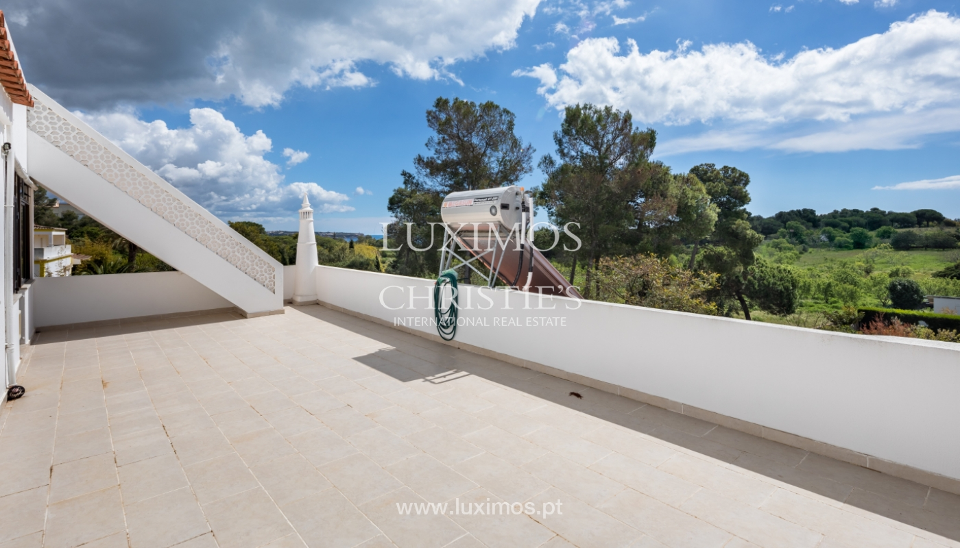 Property for sale with pool and sea view, Vau, Alvor, Algarve,Portugal_121567