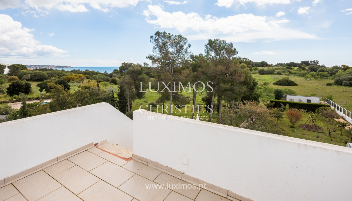 Property for sale with pool and sea view, Vau, Alvor, Algarve,Portugal_121569