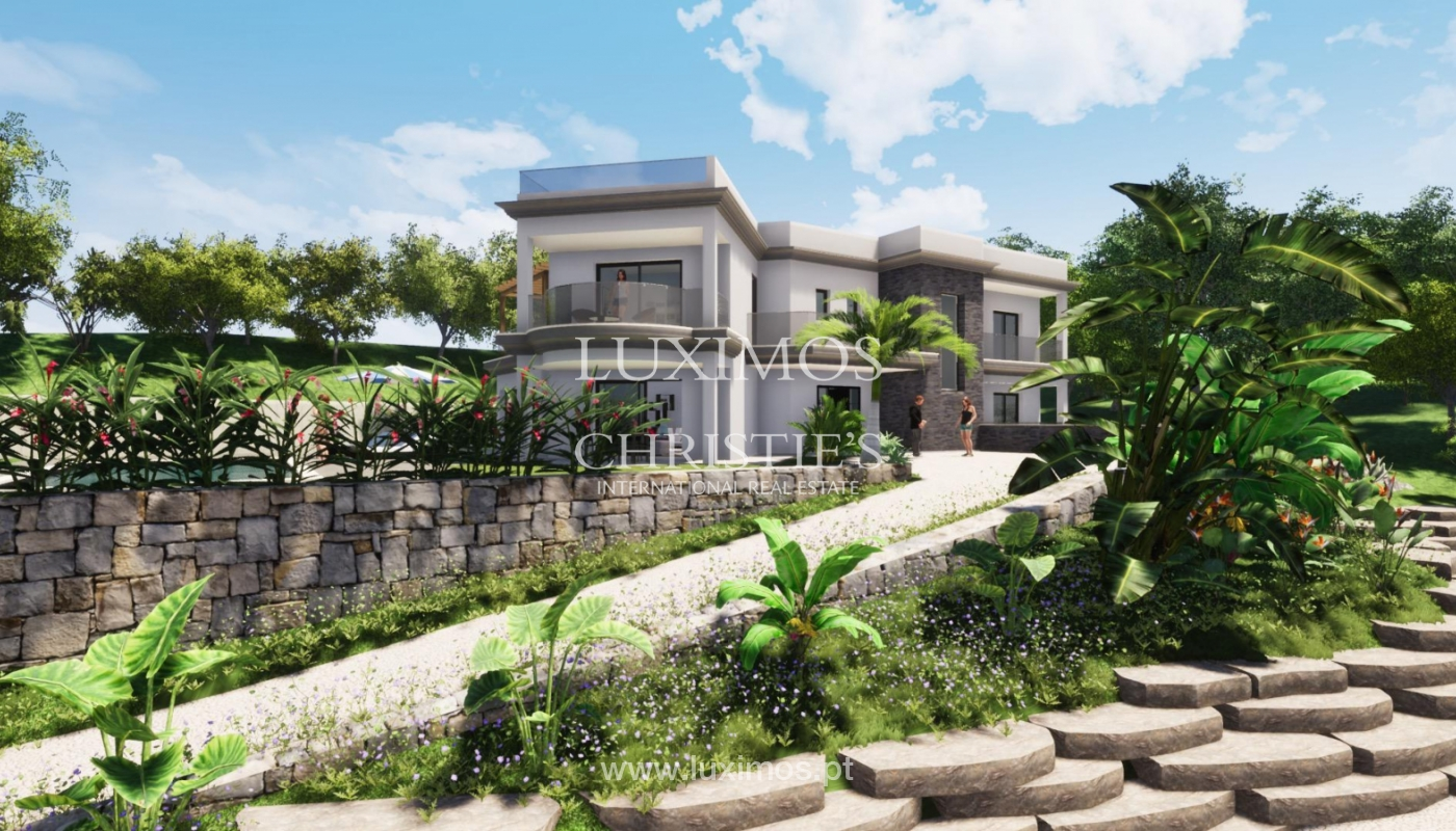 New villa for sale, with pool and sea views, Loulé, Algarve, Portugal_121629