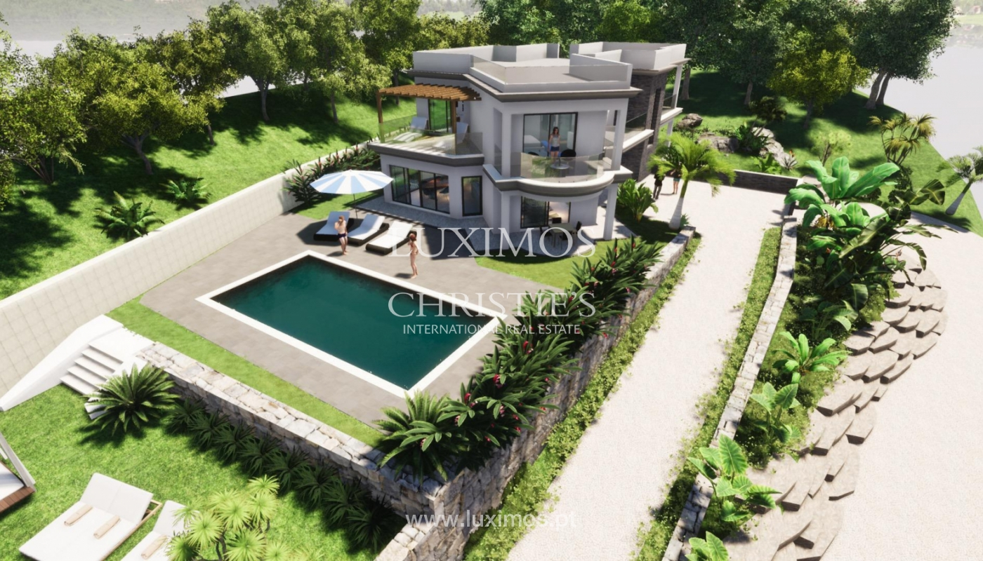 New villa for sale, with pool and sea views, Loulé, Algarve, Portugal_121630