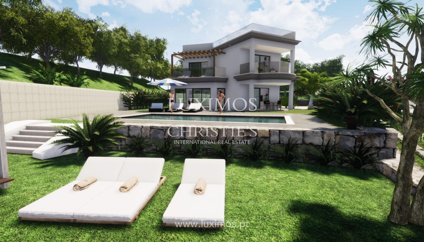 New villa for sale, with pool and sea views, Loulé, Algarve, Portugal_121632