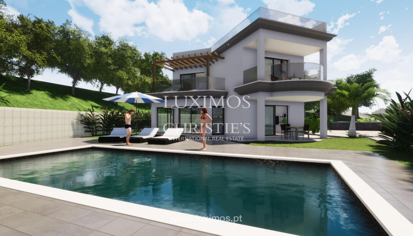 New villa for sale, with pool and sea views, Loulé, Algarve, Portugal_121634