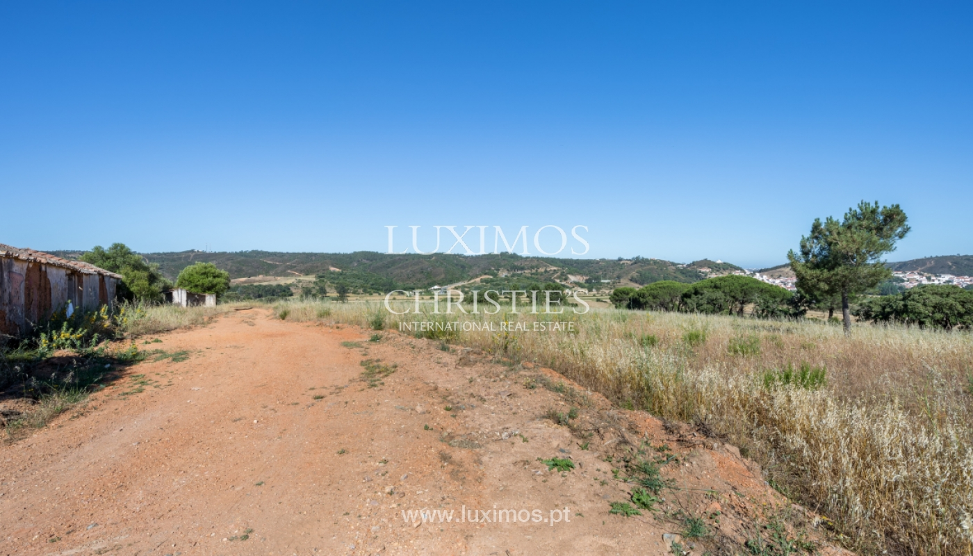 Plot land for sale, near the beaches in Aljezur, Algarve, Portugal_121665