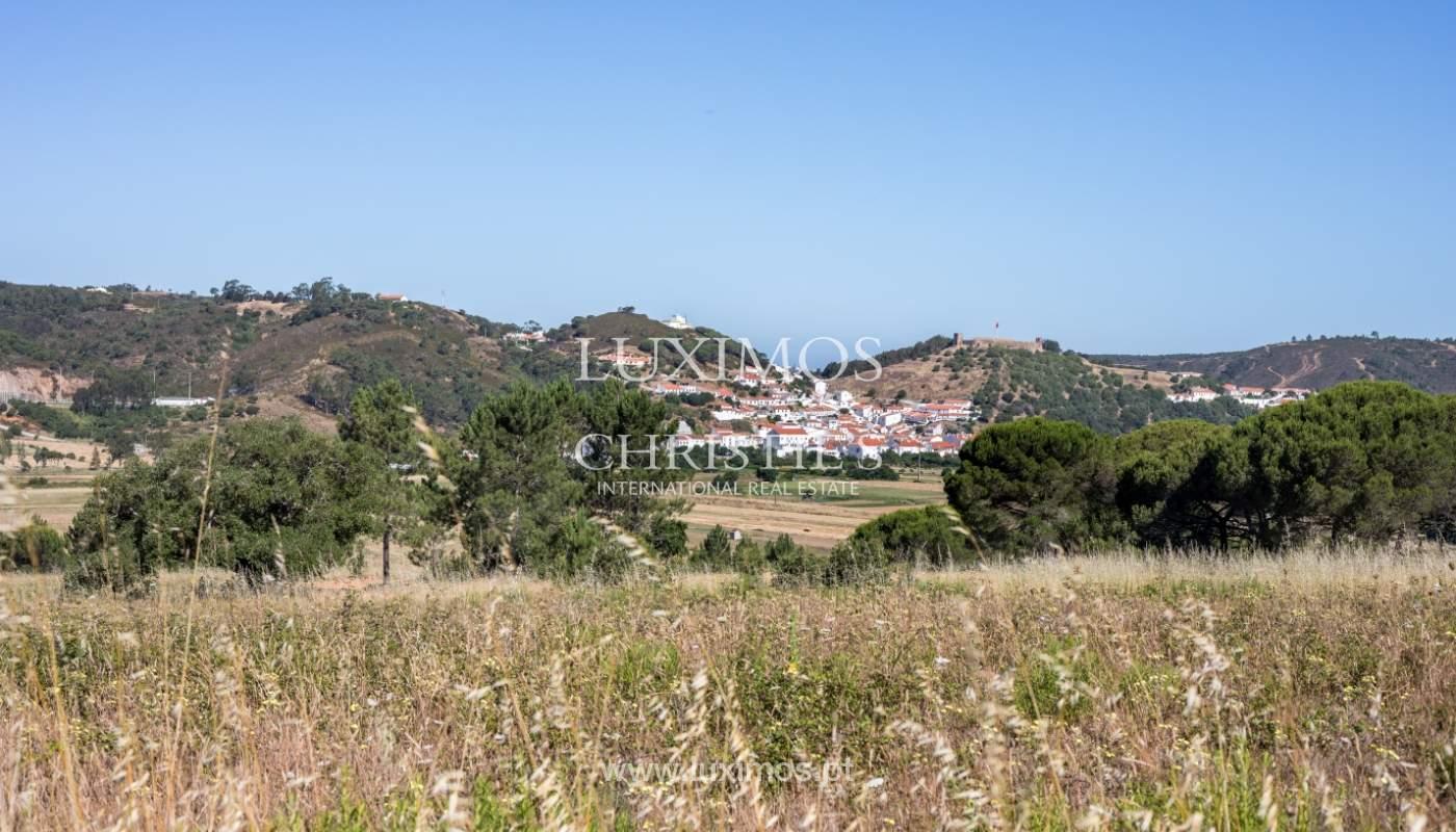 Fantástico terreno para venda, perto das praias, em Aljezur, Algarve_121666