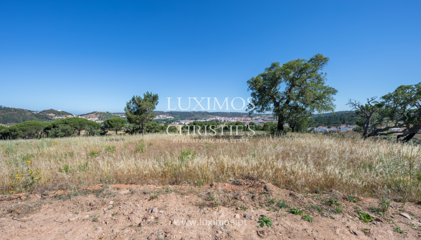 Plot land for sale, near the beaches in Aljezur, Algarve, Portugal_121678