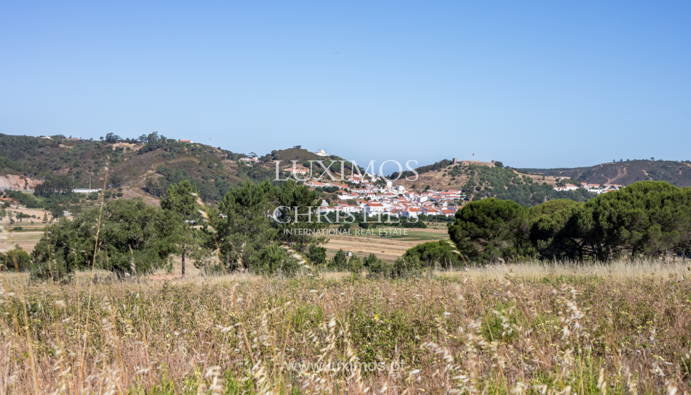 Plot land for sale, near the beaches in Aljezur, Algarve, Portugal_121679