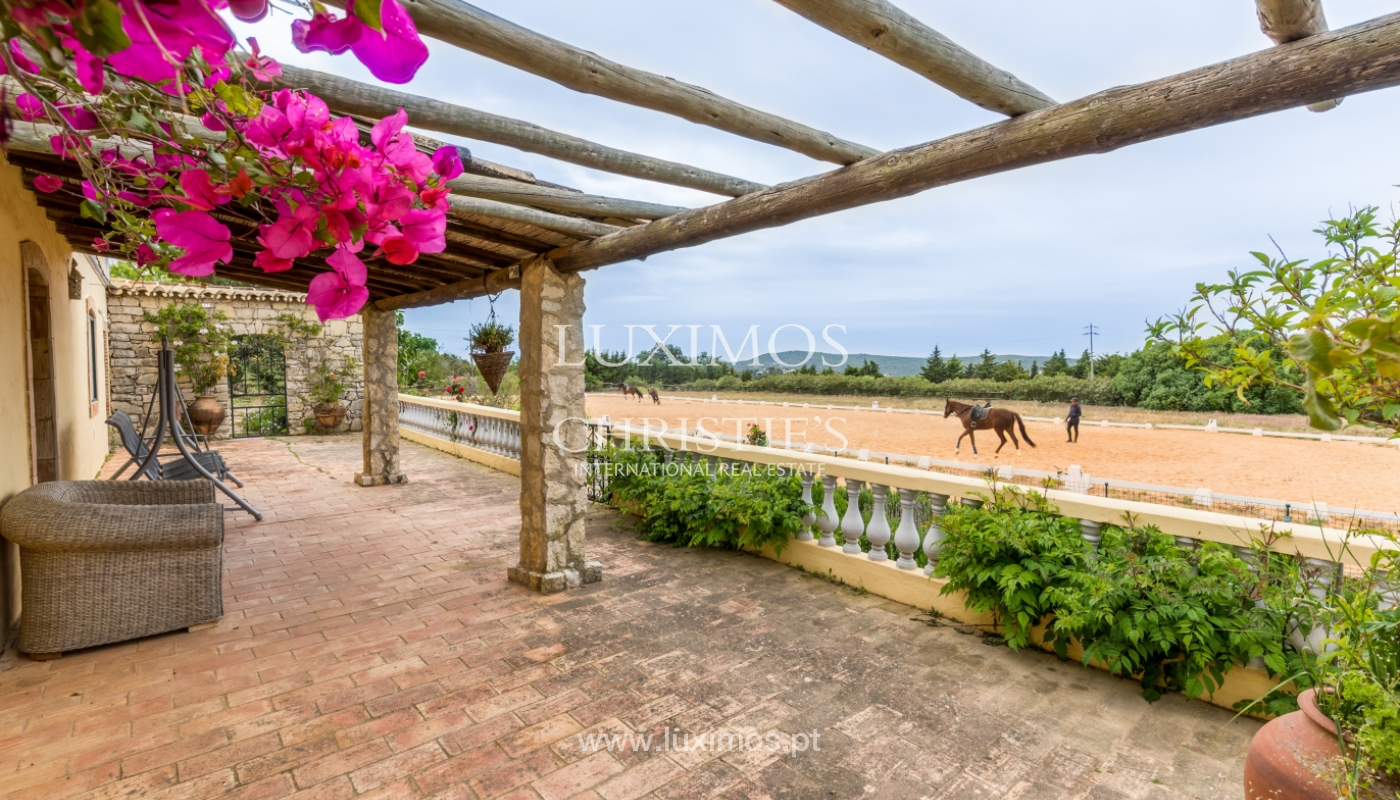 Quinta com escola equestre para venda, Loulé, Algarve_121689