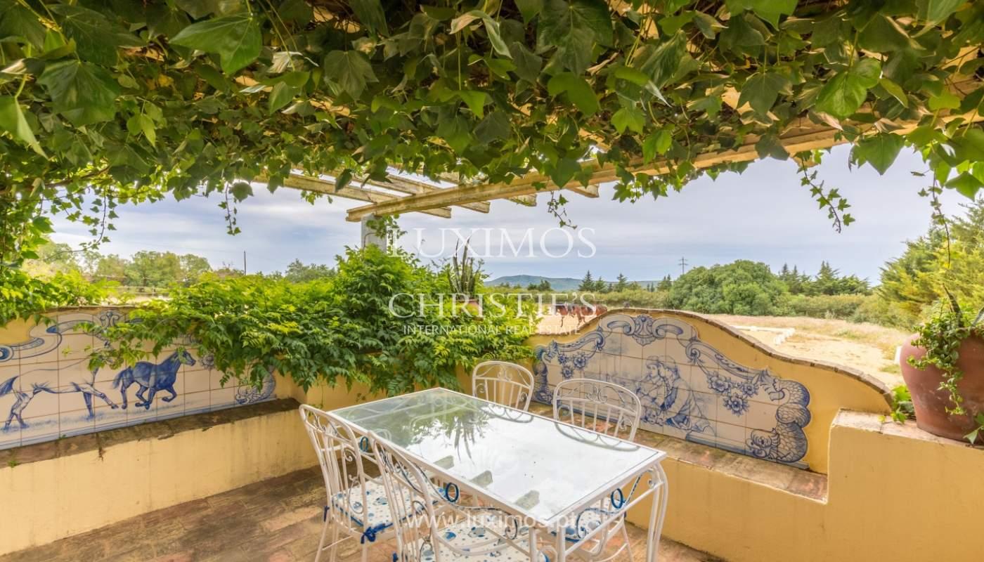 Quinta com escola equestre para venda, Loulé, Algarve_121692
