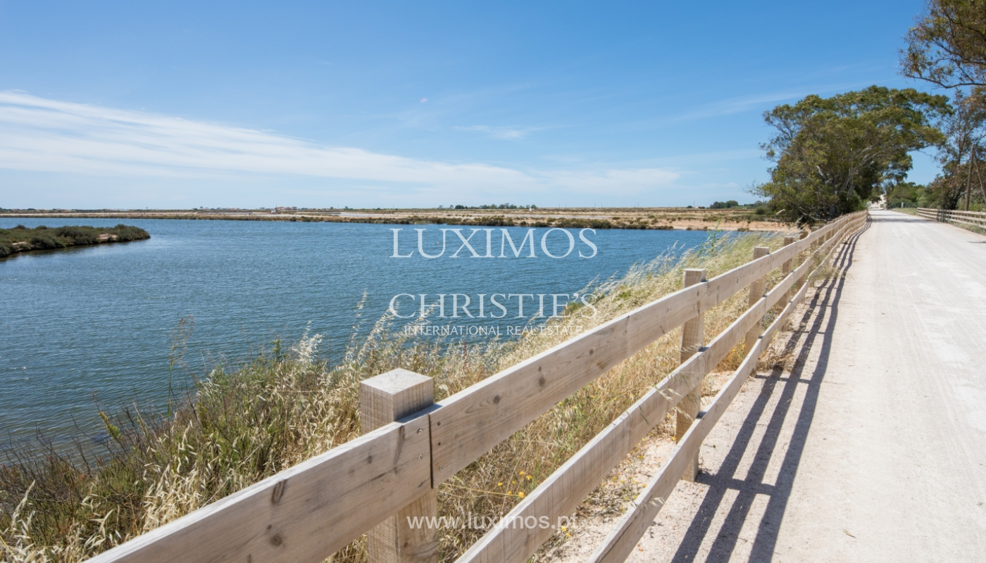 Plot area for sale, Natural Park of Ria Formosa, Algarve, Portugal_121750
