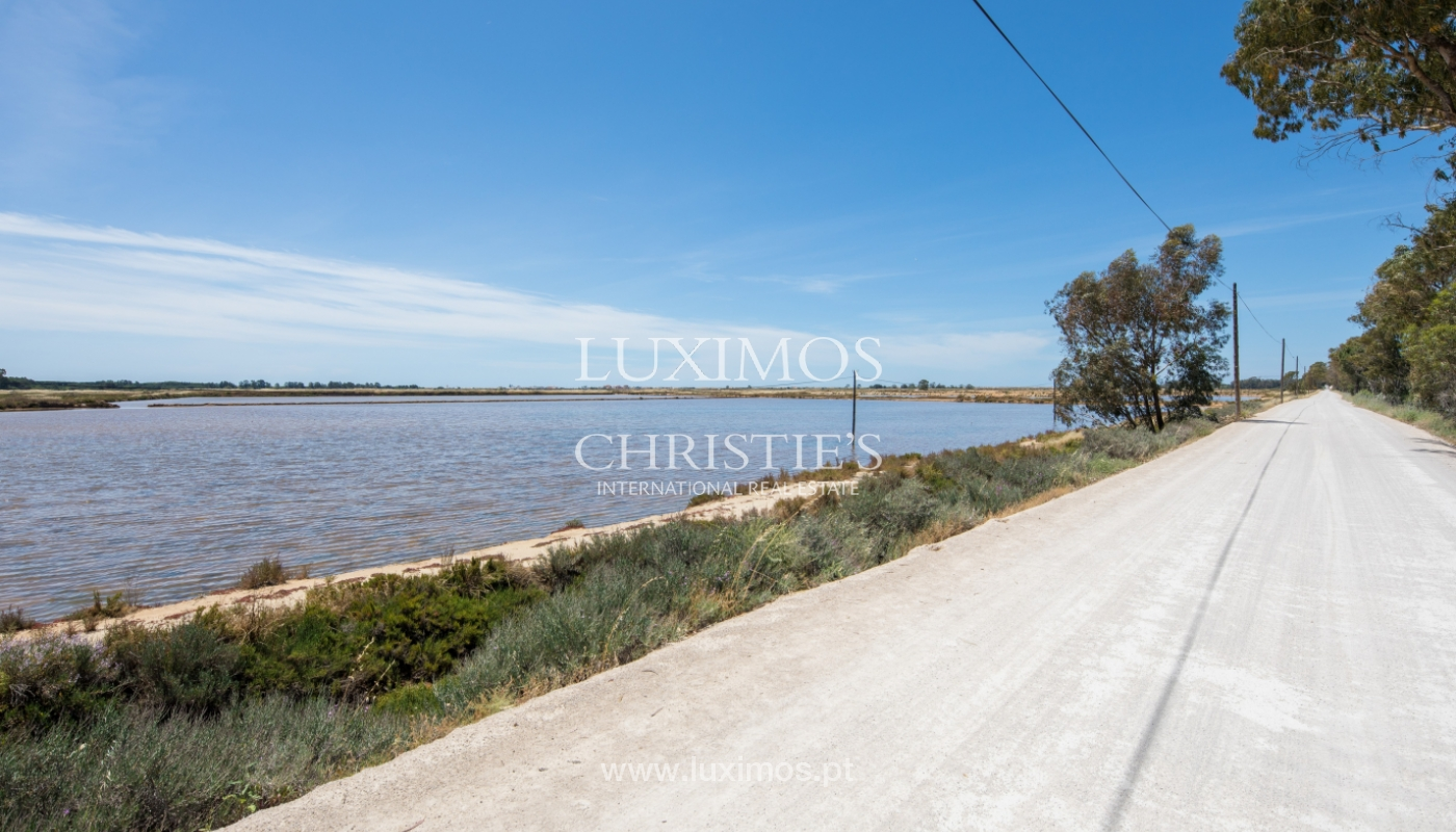 Plot area for sale, Natural Park of Ria Formosa, Algarve, Portugal_121760