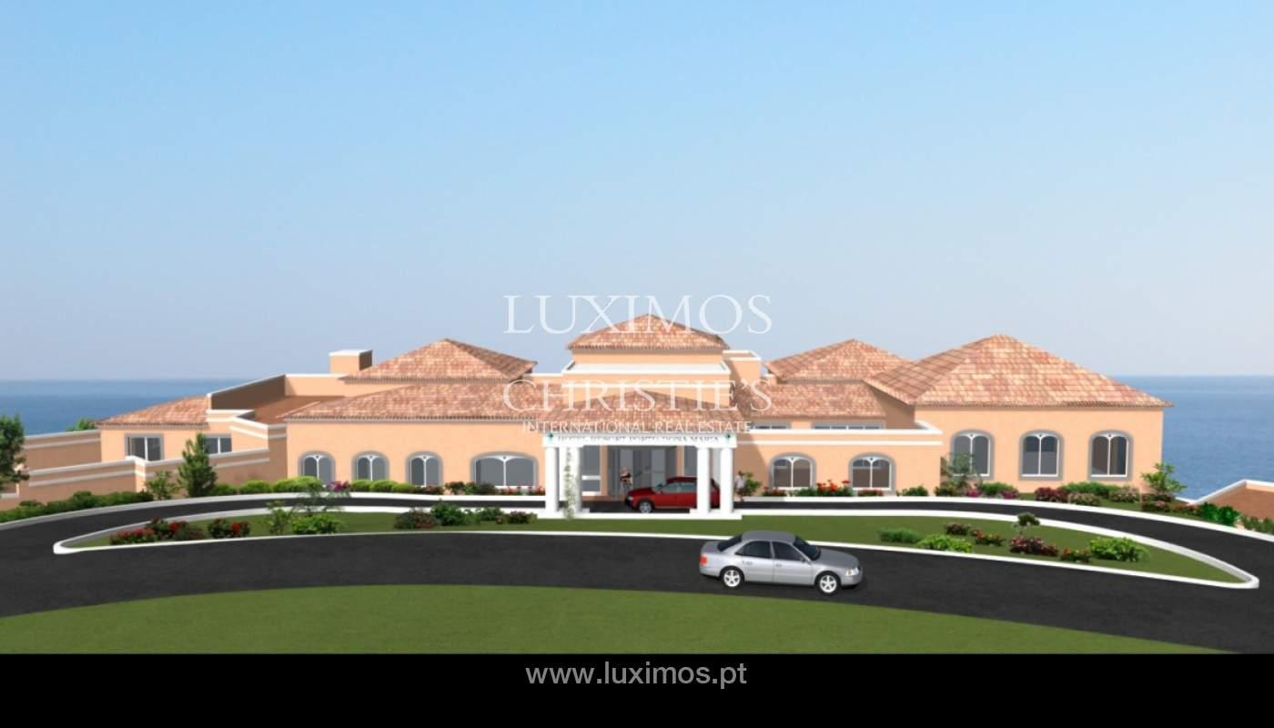 Venda de terreno de Hotel e Spa perto da praia e golfe, Lagos, Algarve_121824