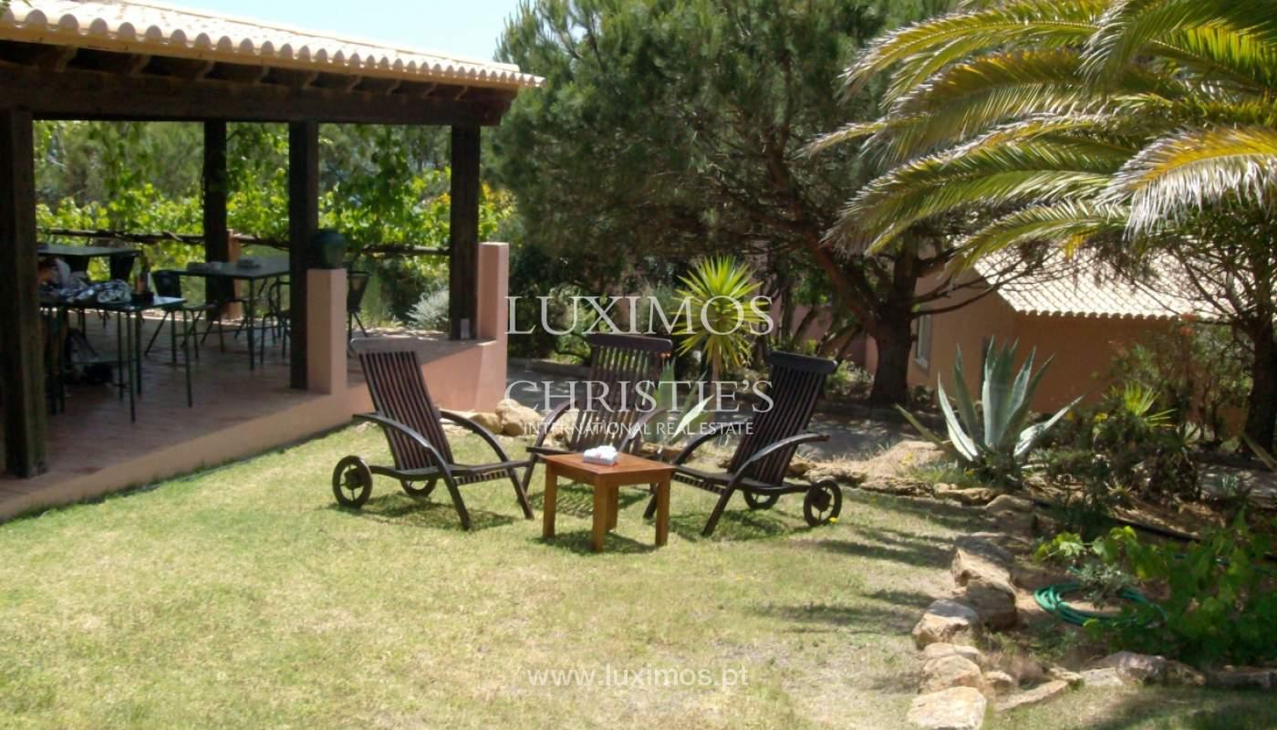 Vente de villa avec terrasse, piscine et vue sur la mer, Lagos, Algarve, Portugal_121860