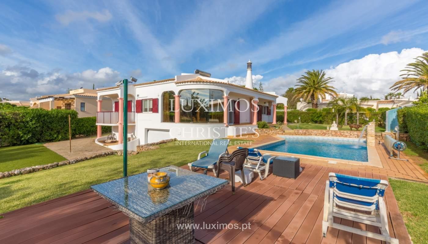Villa à vendre avec piscine, près de golf, Vilamoura, Algarve,Portugal_122468