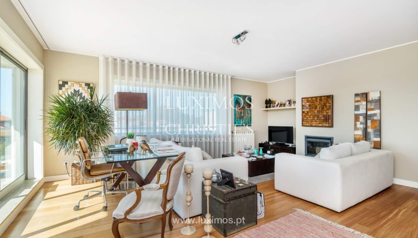 Venta de apartamento de lujo con vistas al mar y río, Porto, Portugal_122679