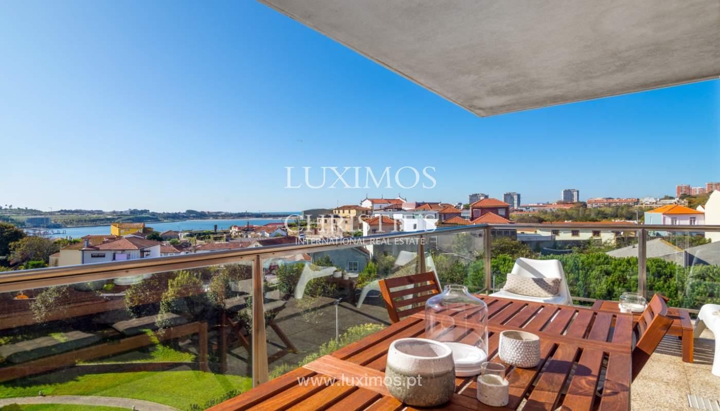 Venta de apartamento de lujo con vistas al mar y río, Porto, Portugal_122682